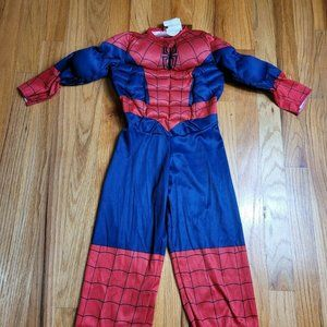 Marval Spider-Man Halloween Costume Toddler Size